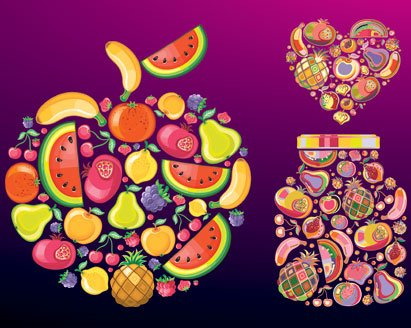 Free Fruit Vectors