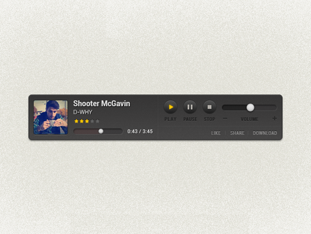 Custom Music Player