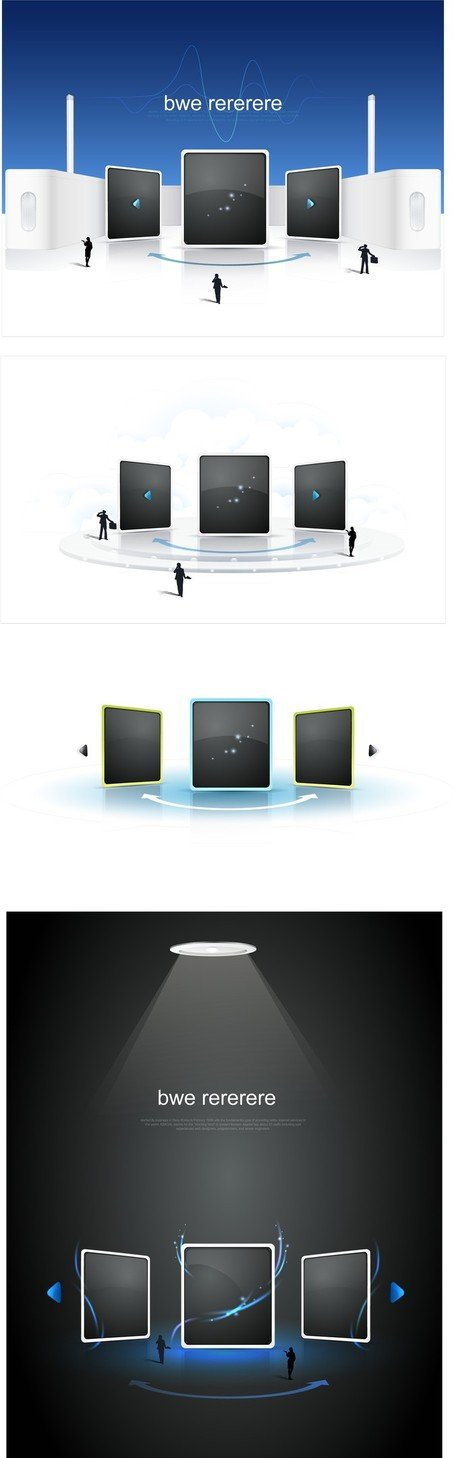 Sense Of Space Vector Network Video Frame