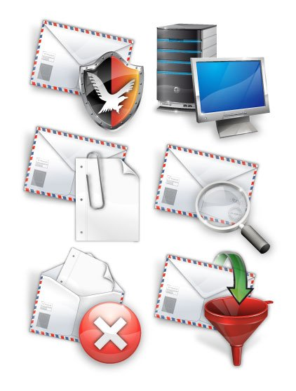 Security icon set 4