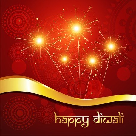 Exquisite Diwali Background
