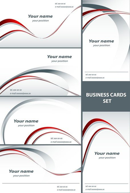 Simple Line Card Template