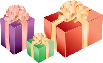 Gift and Present Vector 4