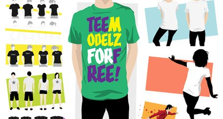 TeeModelz T-shirt mall