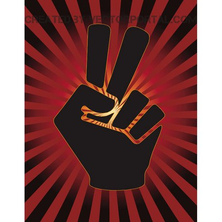 PEACE VECTOR POSTER.eps