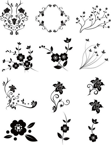 Vector Floral Pack 2