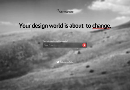 Change Is Coming Landing Page Free PSD Template