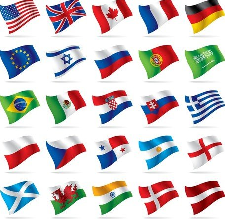 World National Flag Vectors