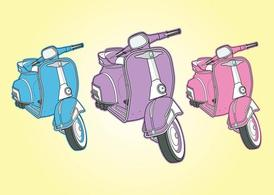 Cool Vespa vectoren