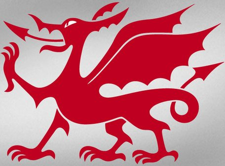 Welsh Dragon Vector kunst