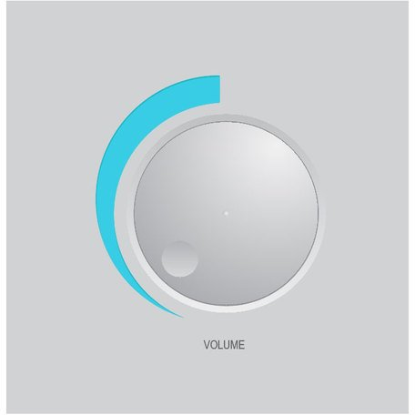 VOLUME KNOB VECTOR IMAGE.eps