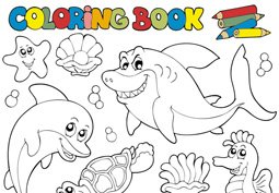 Free Coloring books Clipart and Vector Graphics - Clipart.me