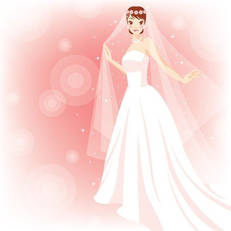 Free Beautiful Bride In The Wedding