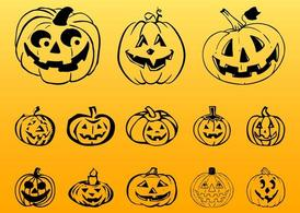 Halloween pompoen Graphics
