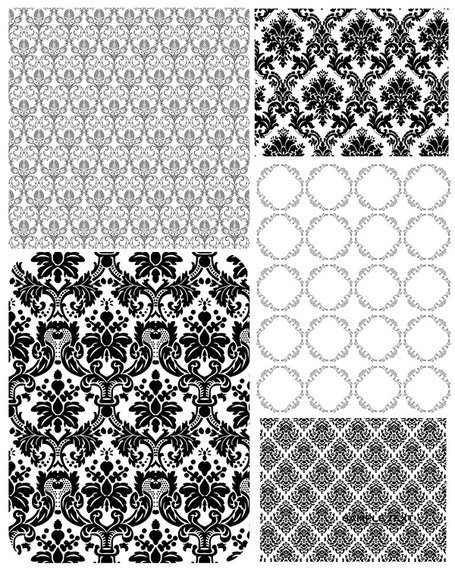 5 European lace pattern