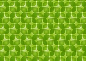 Green Retro Vector Pattern