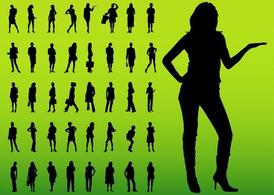 Female Silhouettes