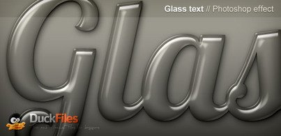 Glass Effect for text and shapes