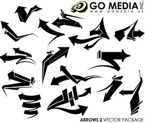Ir Media Vector Chupin material (set8) - Cool flecha