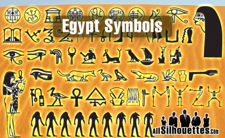 55 egyptiska symboler