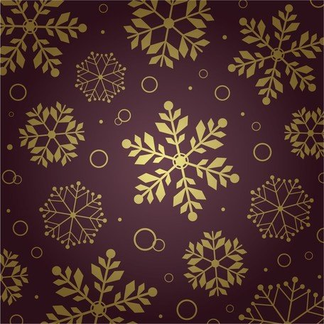 Background Pattern fiocco di neve