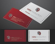 The film production business cards