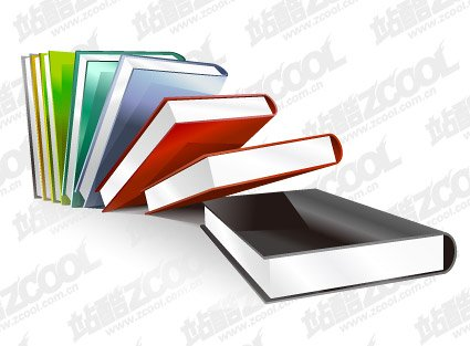 Crystal-style books material