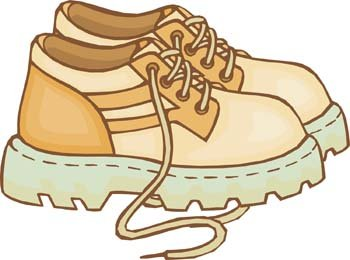 Free Clip Art Shoes Running