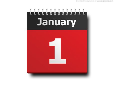 January 1 Calendar Icon Vector File Clipart Me