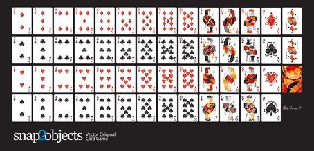 Free Vector Playing Cards Deck