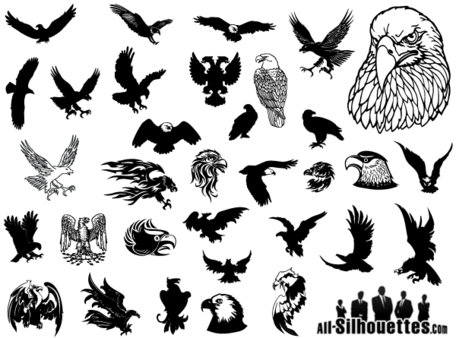 Eagle Vector Clip Art gratis