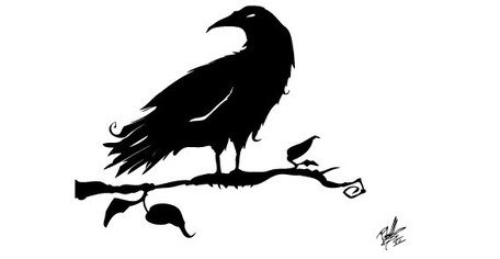 Crow Silhouettes Free, Vector - Clipart.me