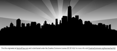 New York Skyline gratis