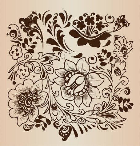 Decorative Flower Pattern