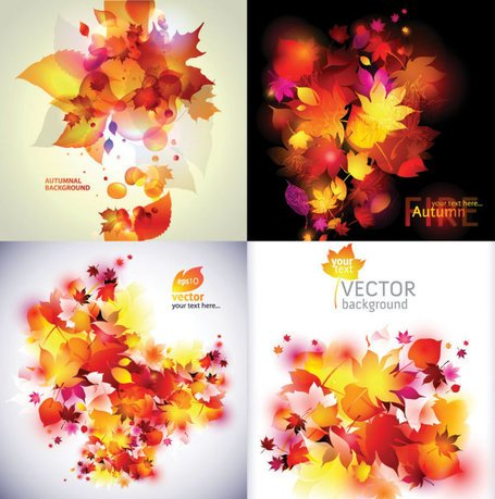 Vector autumn dream