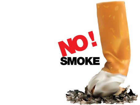 No Smoking Sign Vector Free