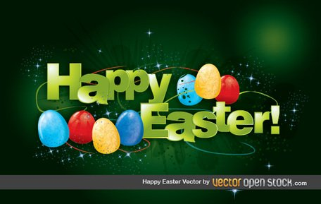 Frohe Ostern Vektor Happy Easter Egg