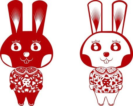 Papercut Rabbit Rabbit