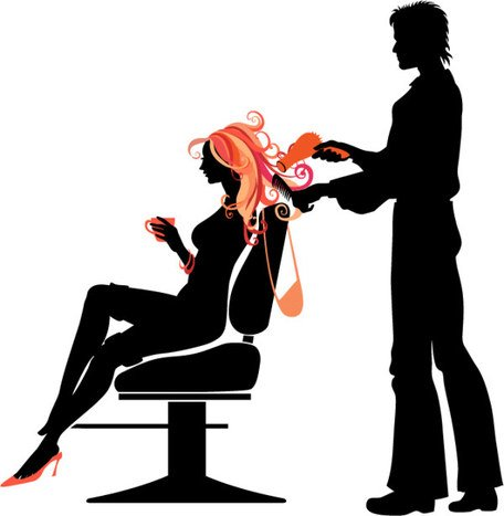 People silhouettes vector material trends Hair