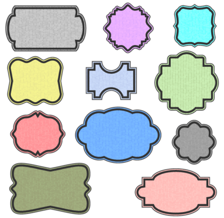 Ornate Vector Frames