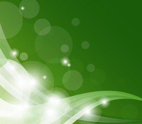 Free Abstract Green Shiny Wave Backgrounds Clipart And