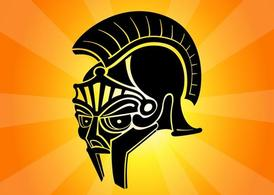 Roman Helmet Graphic
