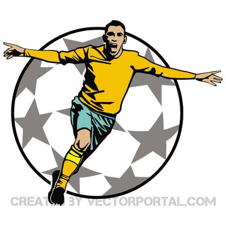 GOAL CELEBRATION VECTOR CLIP ART.eps
