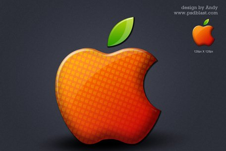 Brillant logo Apple