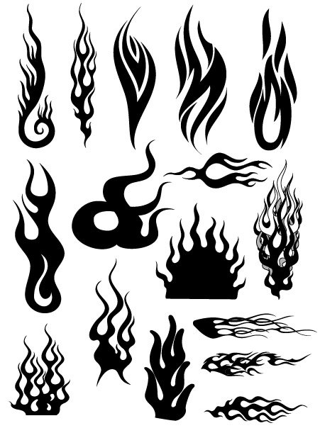 Vector fire a variety of cool patterns (4)