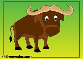 Cartone animato Buffalo