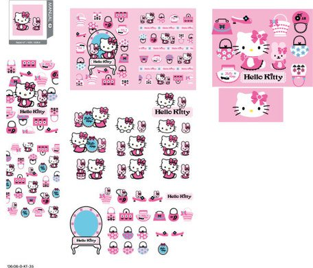 hello kitty resmi vektör 139