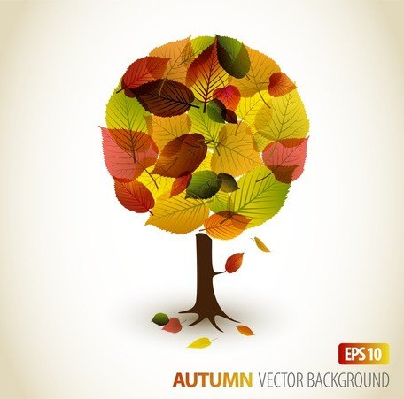 Autumn Leaves Vector 2 grafisch ontwerp