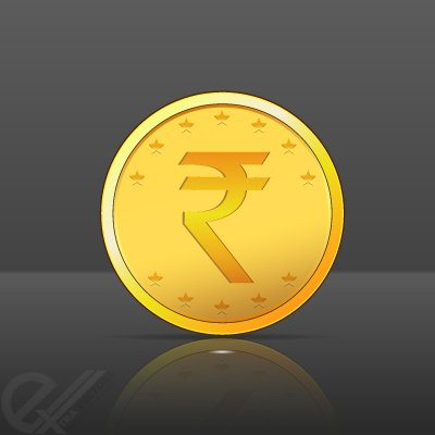 Gold Png Vector Gold Coin Vector With Indian