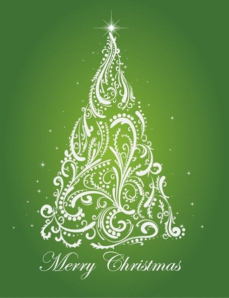 Christmas Tree Vector Illustration 5